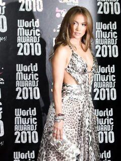 Дженнифер Лопес (Jennifer Lopez) на церемонии «World Music Awards 2010»