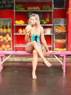 Катрина Боуден в фотосессии на Гавайях
