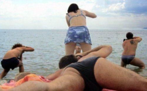 Приколы над голыми людьми