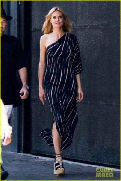 Хайди Клум на Germany's Next Top Model в Австралии.