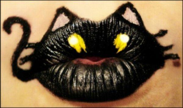 Креативные губы