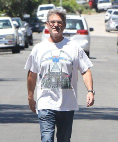 Курт Расселл и Голди Хоун в Брентвуде - 14 августа