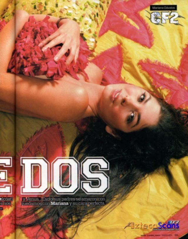 Колумбийская модель Мариана Давалос журнал MAXIM Mexico Март 2011
