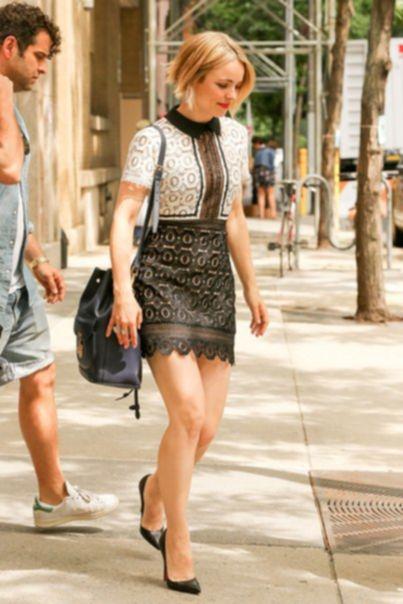 Рэйчел МакАдамс в Нью-Йорке - 21 июля