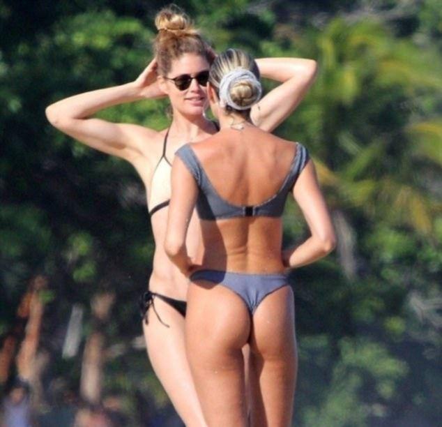 Красотки Victoria's Secret's превзошли всех на пляже в Бразилии