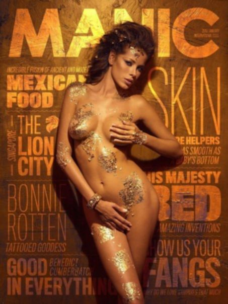 Aida Yespica – Manic Magazine (January 2015)