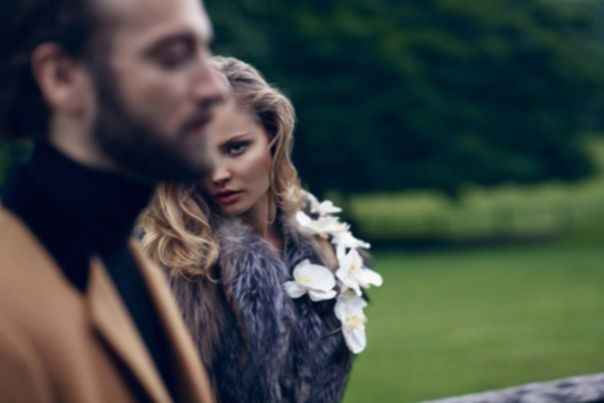 Magdalena Frackowiak and Matthew Avedon by Nathaniel