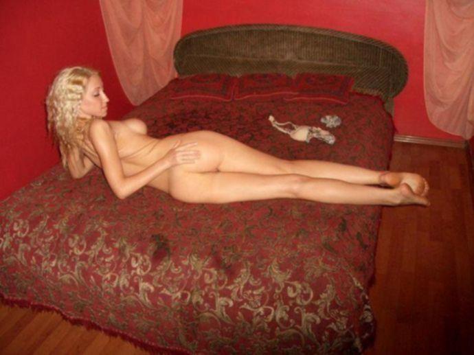 Красота женского тела  . В постели - Частное НЮ