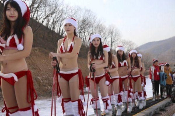 Китайские Снегурочки