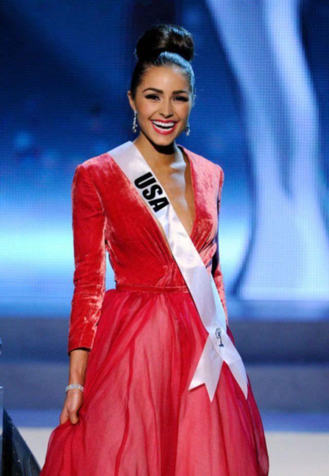 Мисс Вселенная 2012 Olivia Culpo в бикини