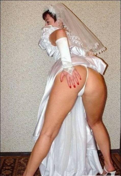 Невеста обожает стоять раком