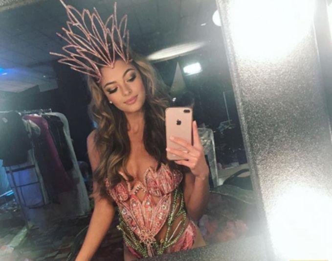 """Деми-Ли Нель-Питерс - """"Мисс Вселенная - 2017"""""""