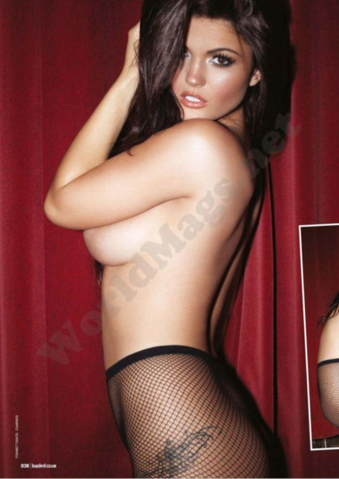Раздетая India Reynolds - Loaded March 2012 UK