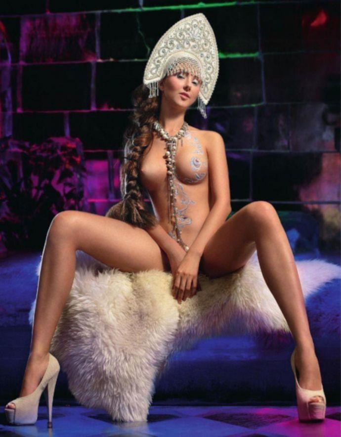Откровенная Марина Фирсова (Marina Firsova) - XXL Декабрь 2011 (12-2011) Russia