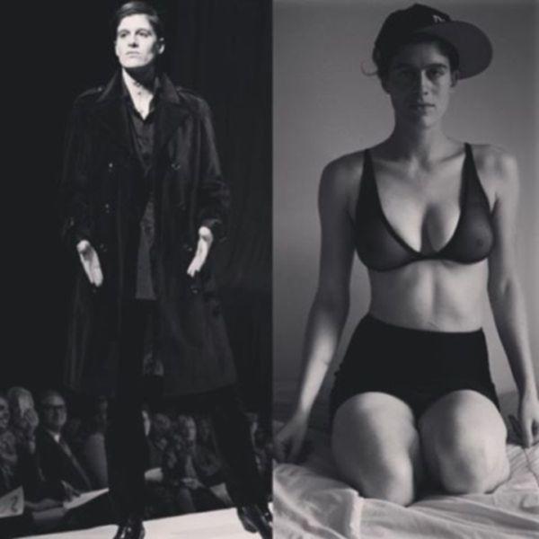 Модель, которая одинаково хорошо справляется с женскими и мужскими образами