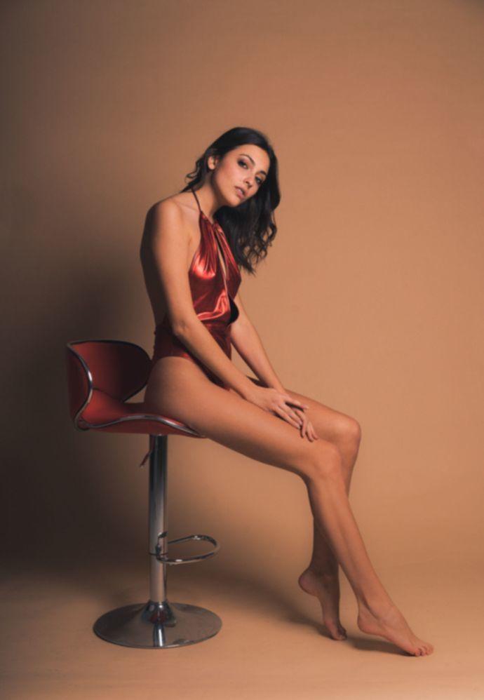 Голая модель Erika Albonetti