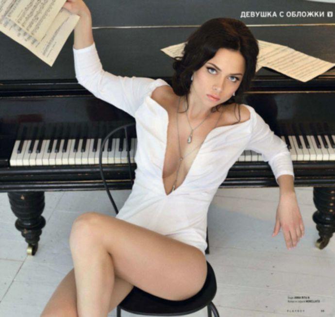 Настасья Самбурская в российском Playboy
