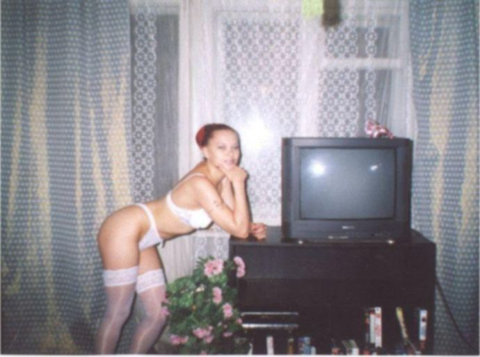 Русская домашняя эротика.  Ретро фото