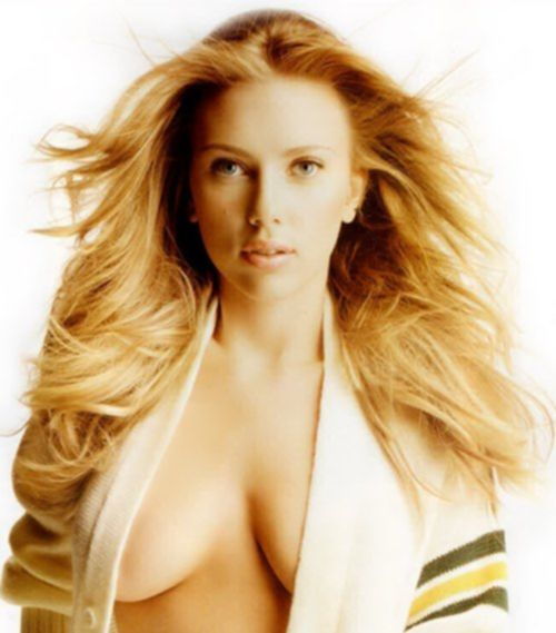 Скарлетт Йоханссон Голая - Scarlett Johansson nude