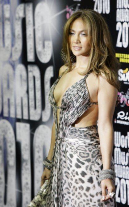 Дженнифер Лопес (Jennifer Lopez) на церемонии «World Music Awards 2010»