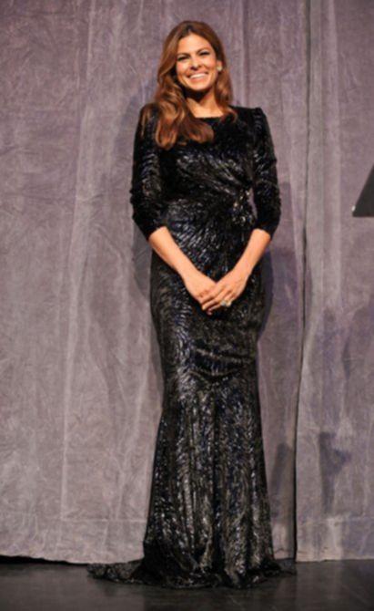 Ева Мендес (Eva Mendes) на премьере фильма «Последняя ночь» (Last Night) в Торонто