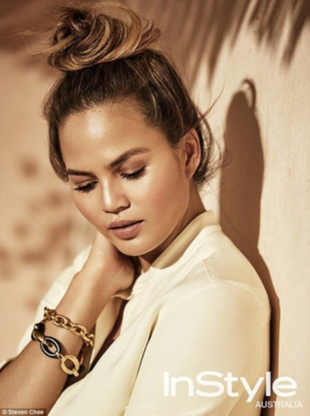 Chrissy Teigen by Steven Chee for InStyle Australia February 2016...