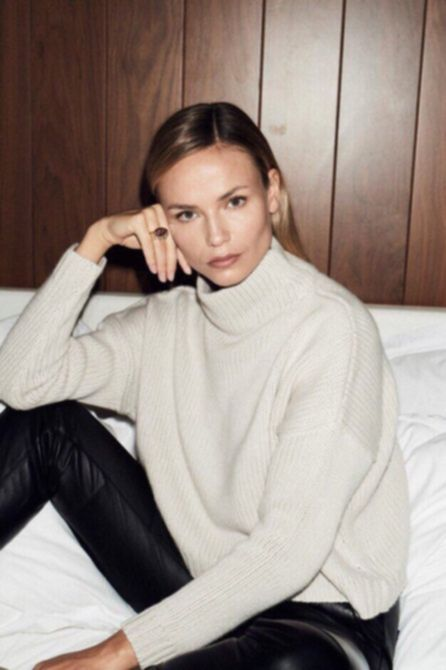 Наташа Поли для модного сайта The Coveteur 2018.