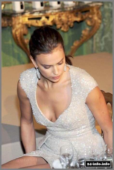 Irina Shayk в вечернем платье (11 фотографий)