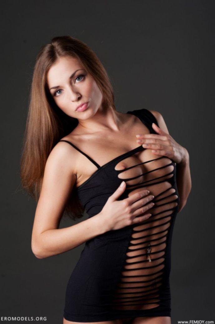 Не имеющая конкуренции кокетка Julia - (секс фото)