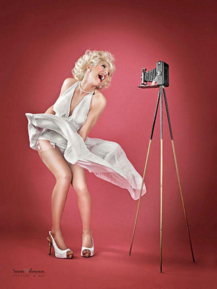 Эротические фотографии Pin-up — красивее, чем нарисованные