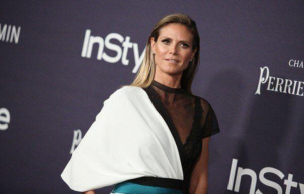 Хайди Клум на InStyle Awards в Лос-Анджелесе