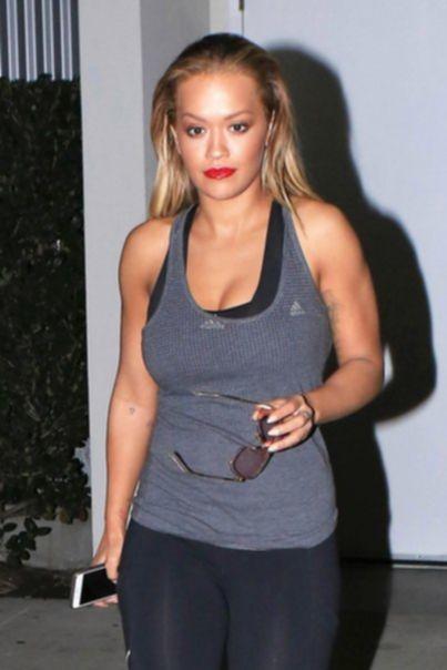 Rita Ora после тренировки в Лос-Анджелесе