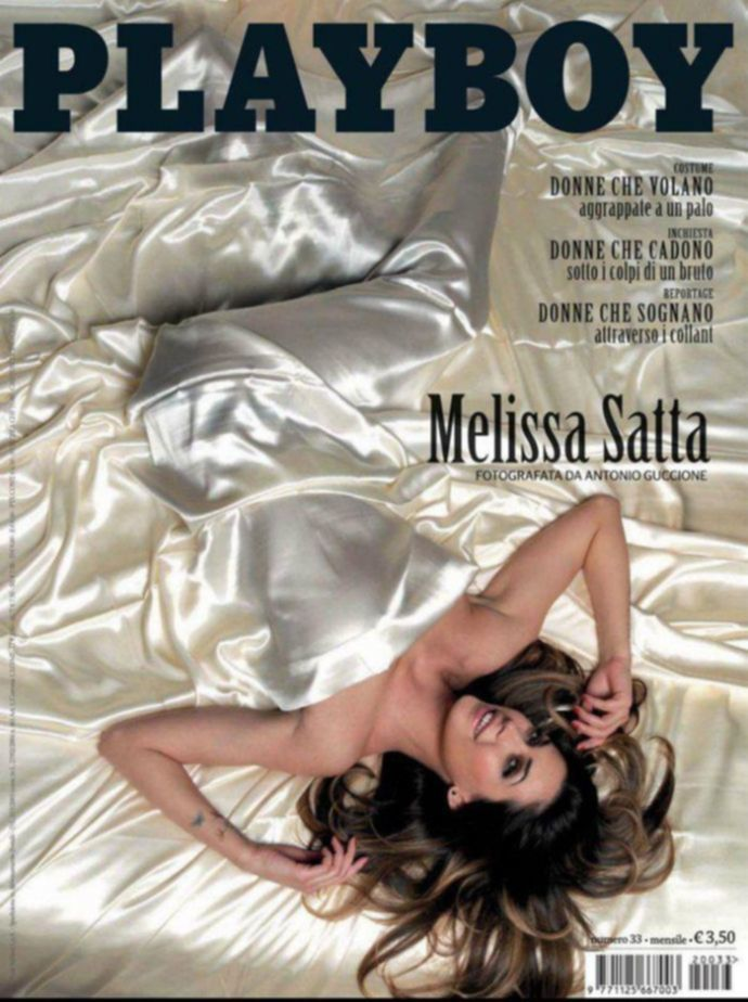 Модель месяца Melissa Satta - Playboy March 2012