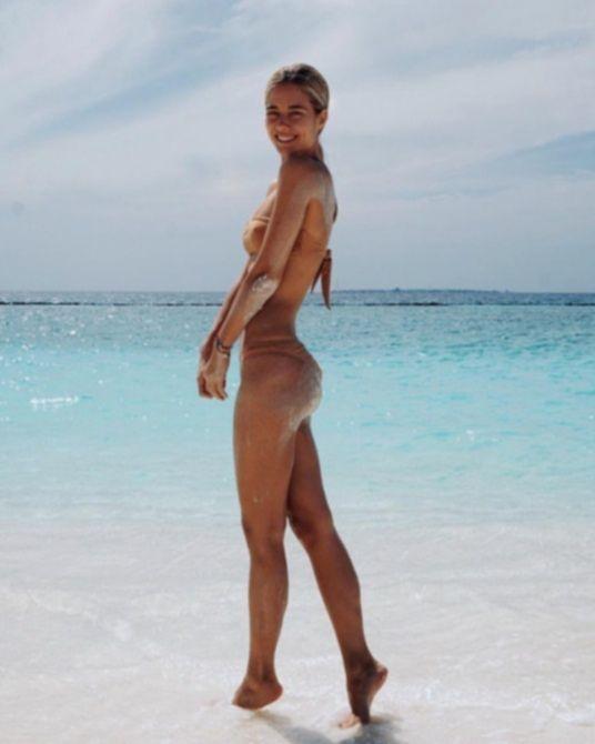 Юлия Паршута на Мальдивах - Instagram