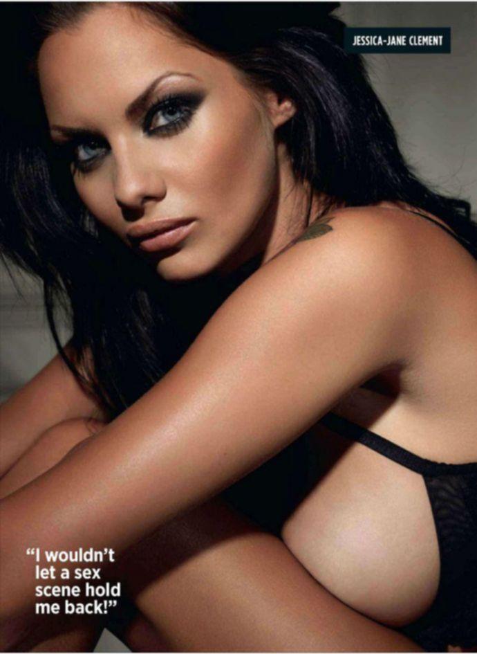 Откровенная Jessica Jane Clement - Nuts November 2011 (11-2011c) UK