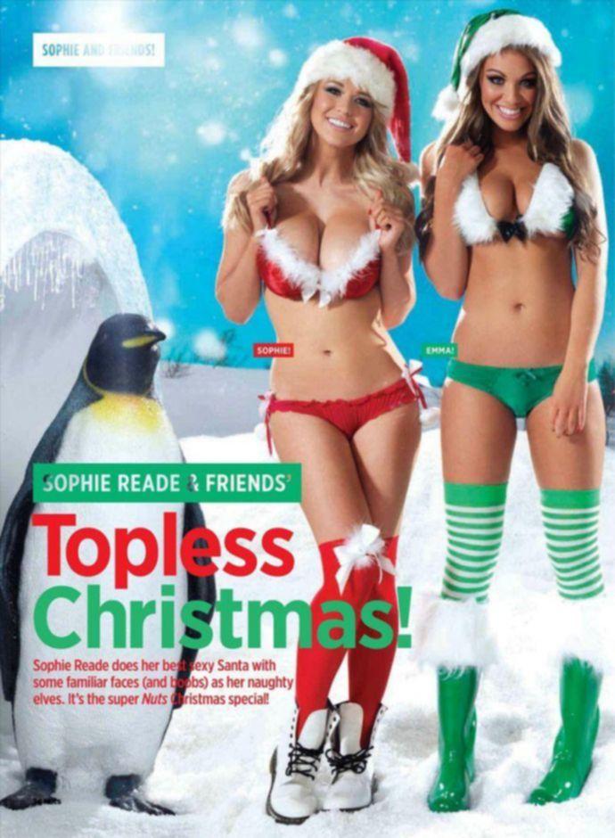 Модель месяца Sophie Reade, Emma Frain - Nuts December 2011 (12-2011c) UK