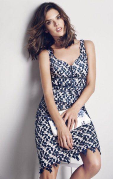 Alessandra Ambrosio for Coast Summer 2016