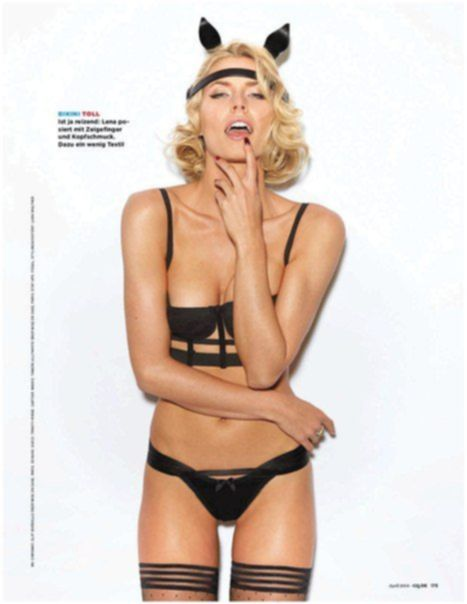 Лена Герке в журнале GQ Германия