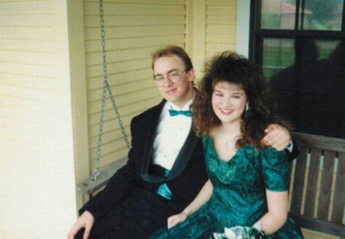 Подборка модников и модниц 90-х годов